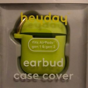 heyday Airpod Silicone Case with Clip
